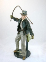 "Indiana Jones by Sideshow Toys 12"" Figure from INDIANA JONES AND THE RAIDERS OF THE LOST ARK"