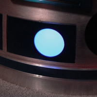 Front Process State Indicator light -- flashes red and blue.