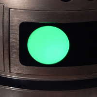 Rear Process State Indicator light -- flashes yellow and green.
