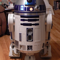 This is the first time R2 has been complete and in the house.