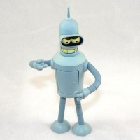 Bender Bending Rodriguez (with angry eyes)