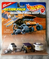 Hot Wheels - (Carded) Mars Rover (1996)
