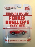 Hot Wheels Retro Entertainment - Ferrari 250 California [in package] (Ferris Bueller's Day Off)