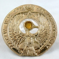 Staff of Ra Headpiece (front) from INDIANA JONES AND THE RAIDERS OF THE LOST ARK