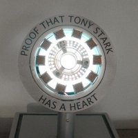 Iron Man Mark 1 Arc Reactor - Proof that Tony Stark Has A Heart