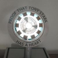 Iron Man Mark 1 Arc Reactor - Proof that Tony Stark Has A Heart