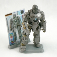"Iron Man Mk I Armor from IRON MAN 2 Movie 4"" Figure Line"
