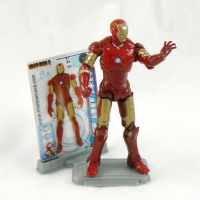 "Iron Man Mk III Armor from IRON MAN 2 Movie 4"" Figure Line"