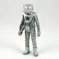 """Cyberman with Cybergun from """"Earthshock"""" (1982)"""